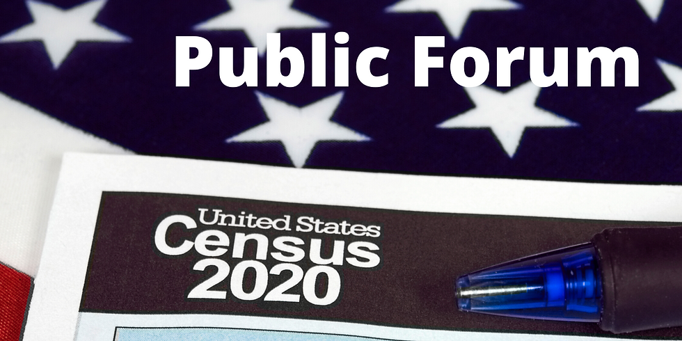 2020 Census Public Forum (with NAACP Lynchburg Branch)