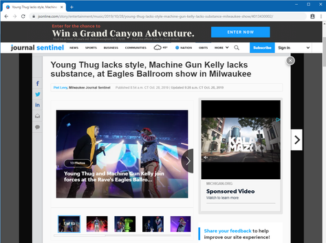 Young Thug & Machine Gun Kelly