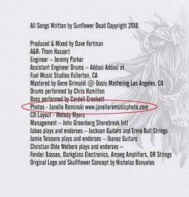 Sunflower Dead CD