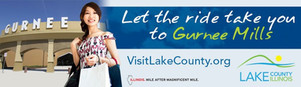 My photo of Entry A at Gurnee Mills was featured on several digital billboards along the interstate across Chicago land for Visit Lake County's advertising campaign!