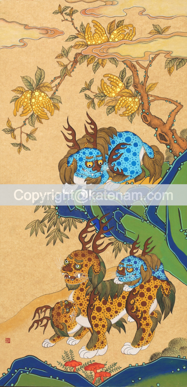 Haitai under Buddah's hand tree (2013/14)