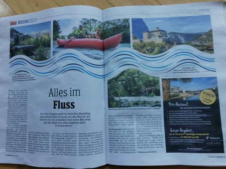ENNSFLUSSWANDERN - Reisezeit Bericht / Kleine Zeitung