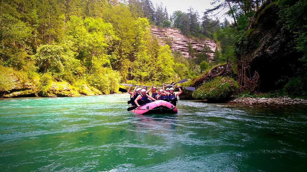 FLUSSABENTEUER EASY-RAFTING I