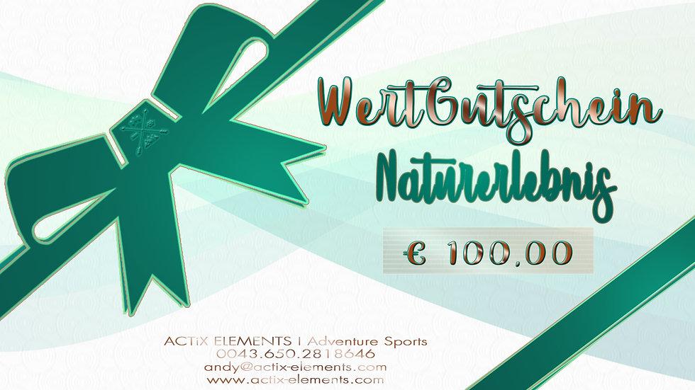WERTGUTSCHEIN NATURERLEBNIS III