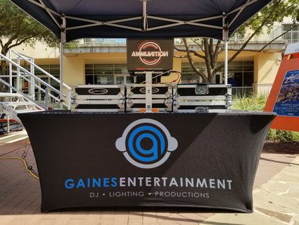 PROUD DJ WITH GAINES ENTERTAINMENT