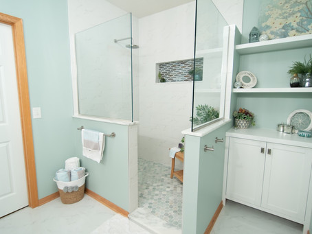 Blaine Bathroom Remodel - Part 2