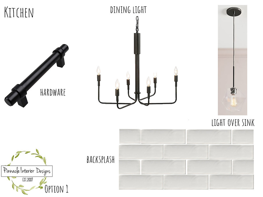 Mood Board Option 1   Pinnacle Interior Designs