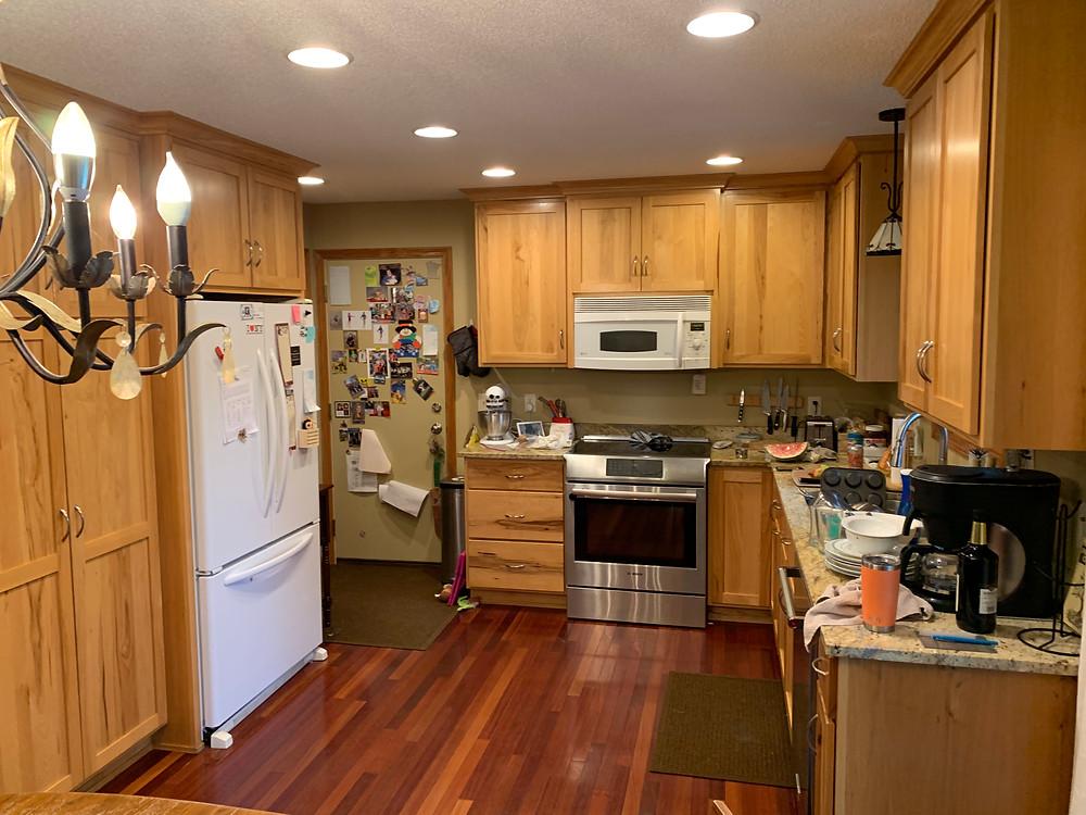 Kitchen Before   Pinnacle Interior Designs