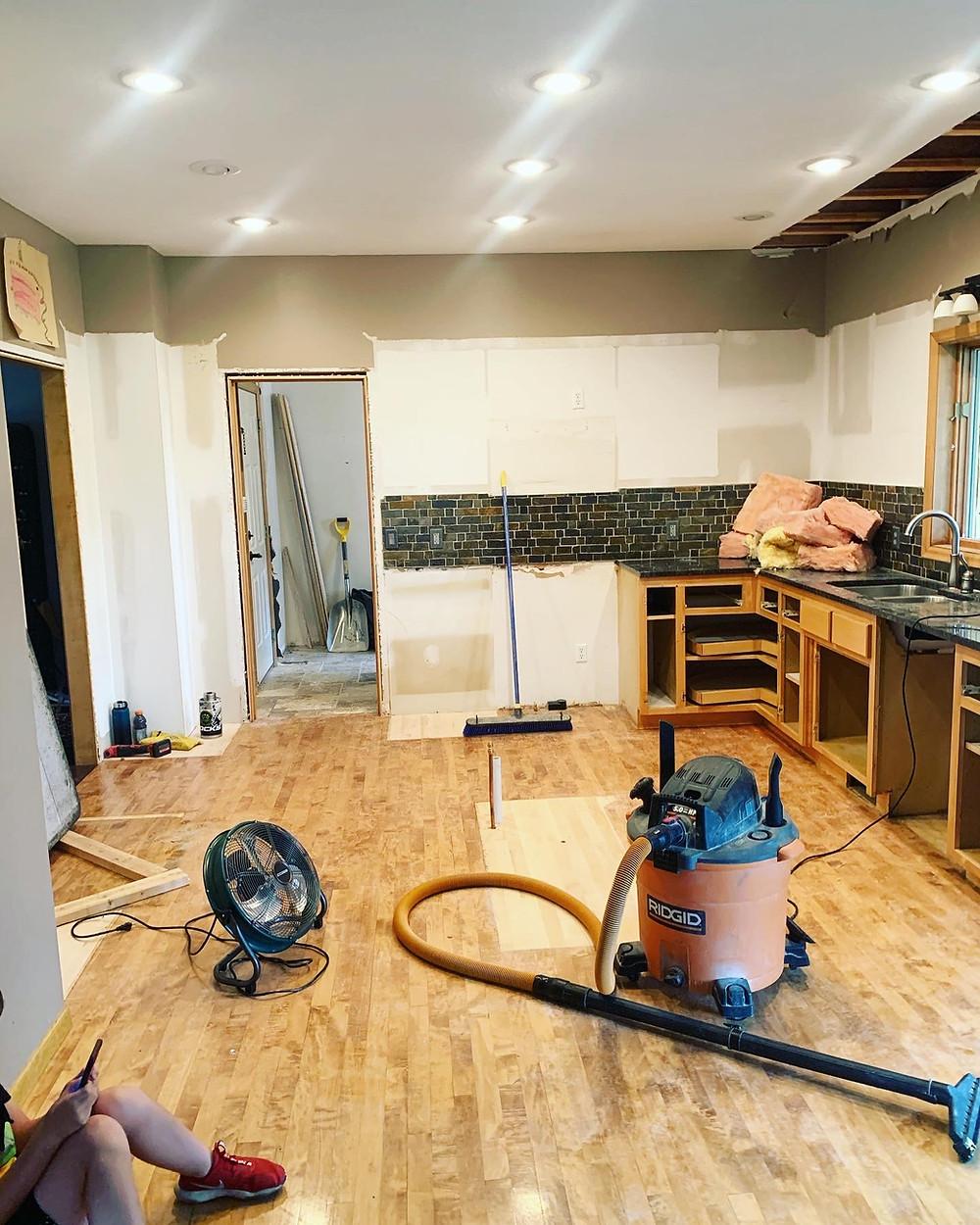 Kitchen demo   Pinnacle Interior Designs