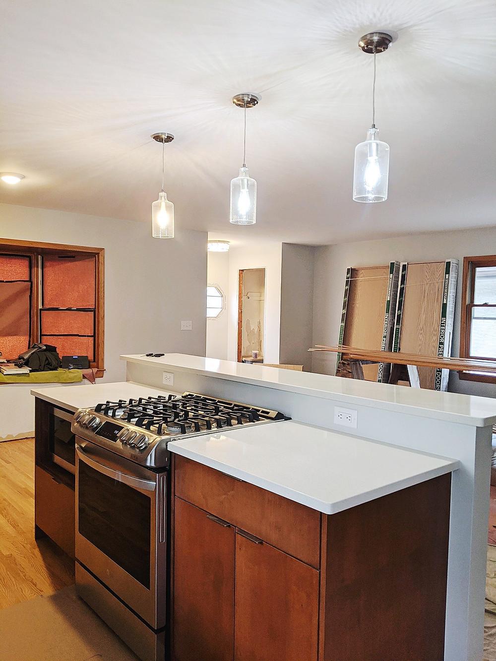 Counters go in | Pinnacle Interior Designs