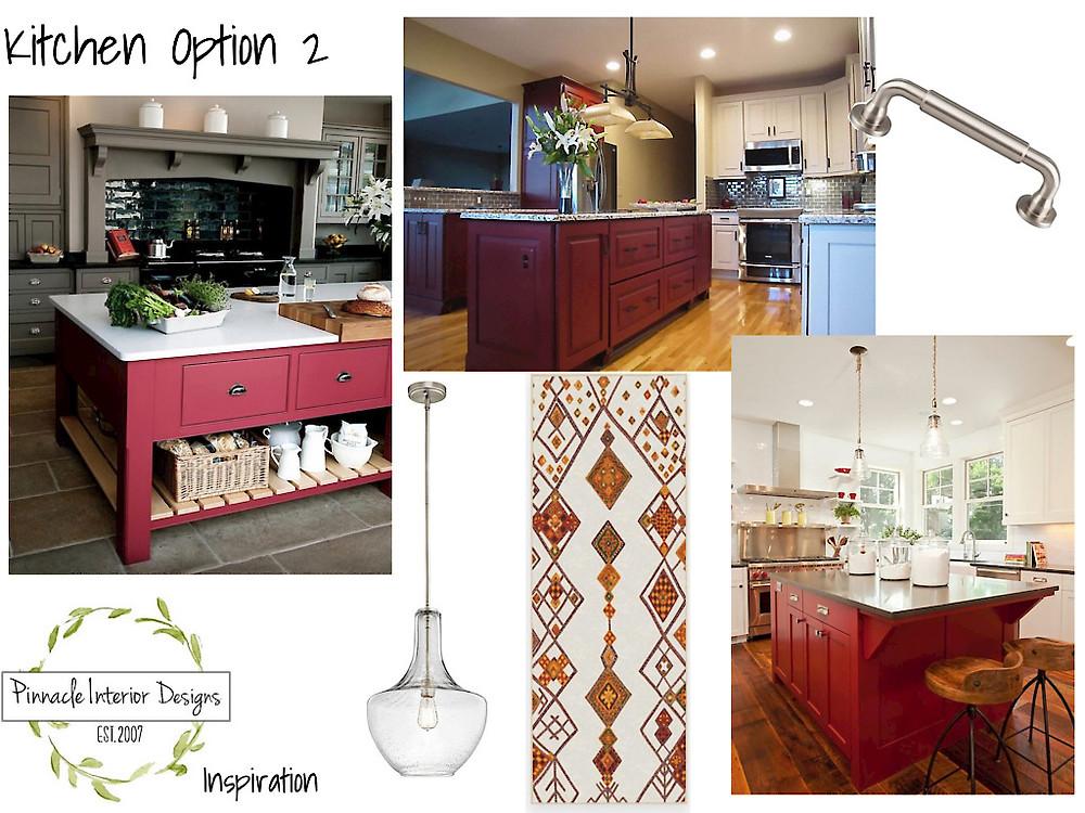 Mood Board Option 2 | Pinnacle Interior Designs