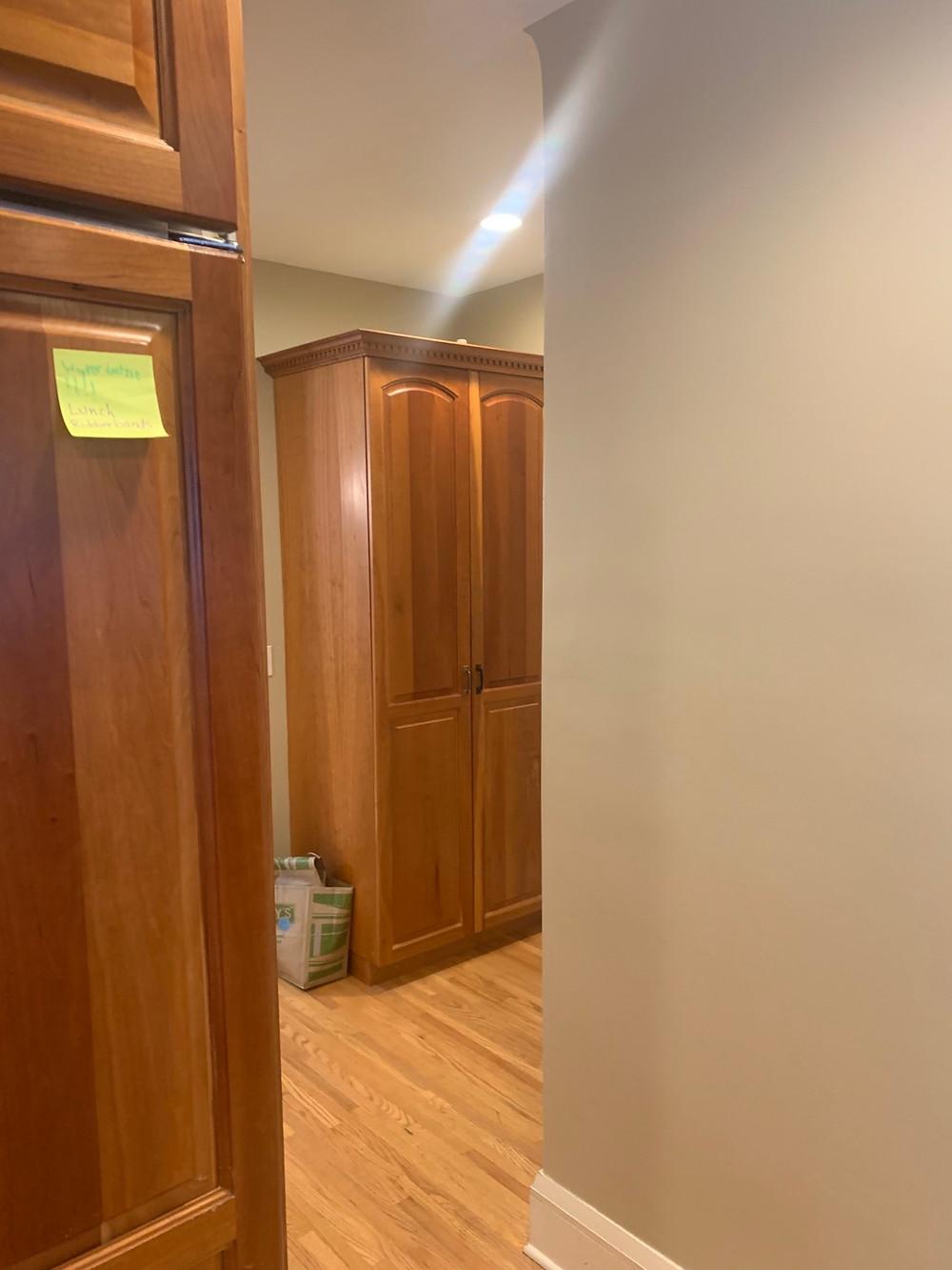 Pantry Before | Pinnacle Interior Designs