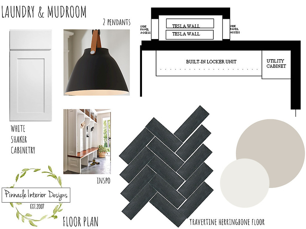 Laundry Mood Board   Pinnacle Interior Designs
