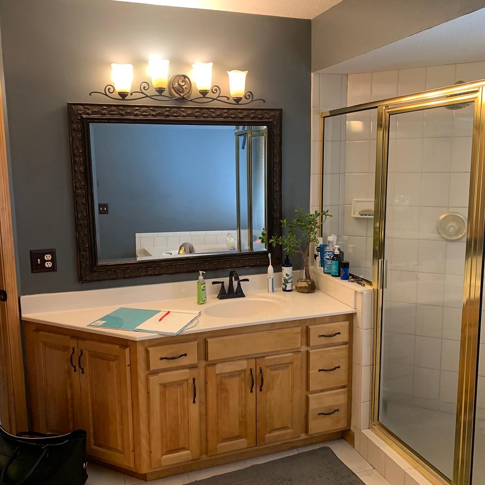Master Bathroom Before | Pinnacle Interior Design