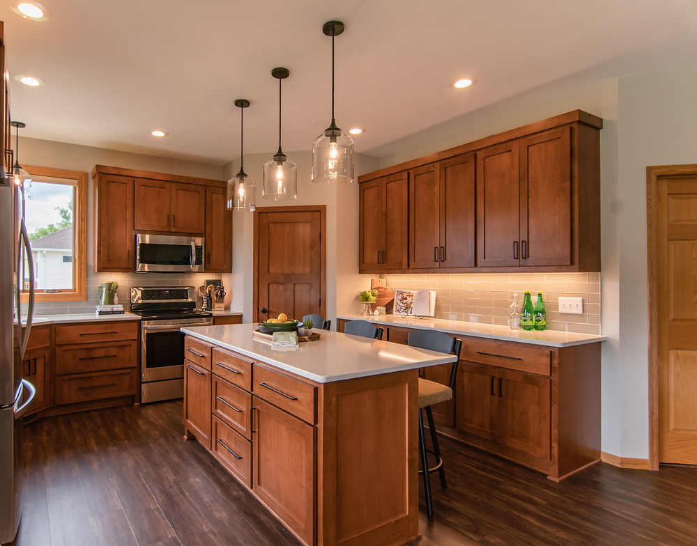 Transitional Kitchen Design | Pinnacle Interior Designs