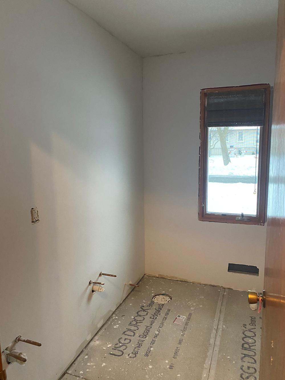 Drywall complete   Pinnacle Interior Designs