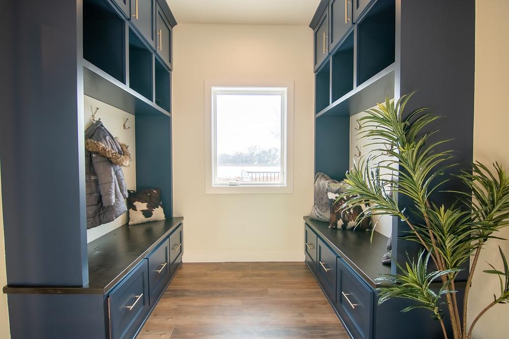 Locker Area After | Pinnacle Interior Designs