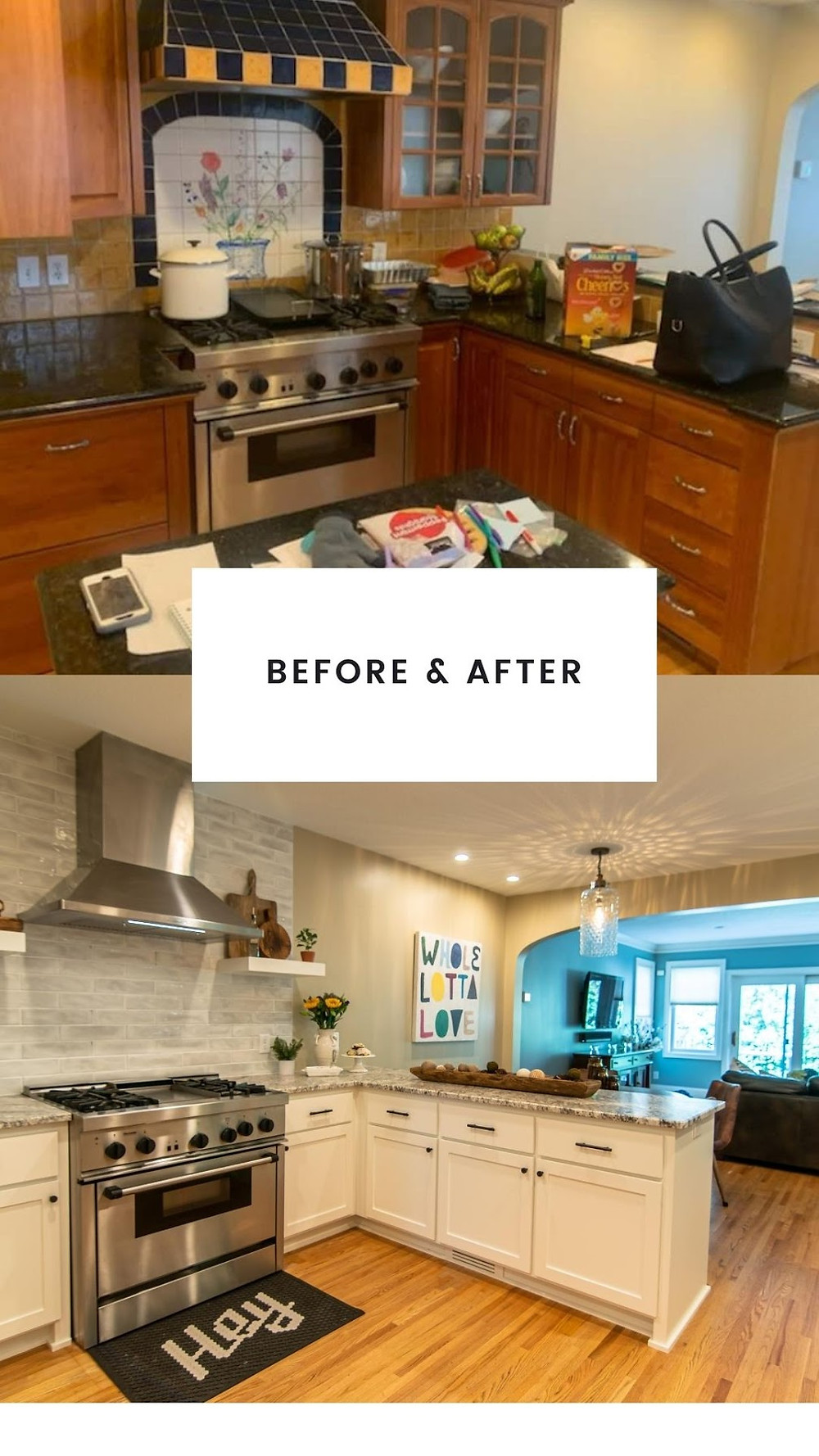 Kitchen AFTER | Pinnacle Interior Designs