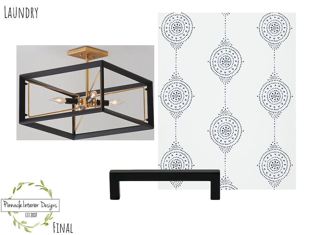 LAUNDRY MOOD BOARD | Pinnacle Interior Designs
