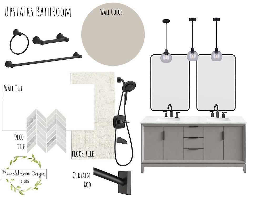 Final Mood Board Design | Pinnacle Interior Designs