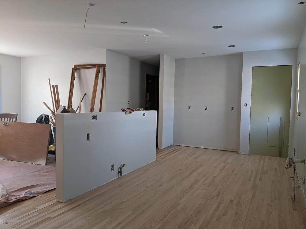 Floors go in | Pinnacle Interior Designs
