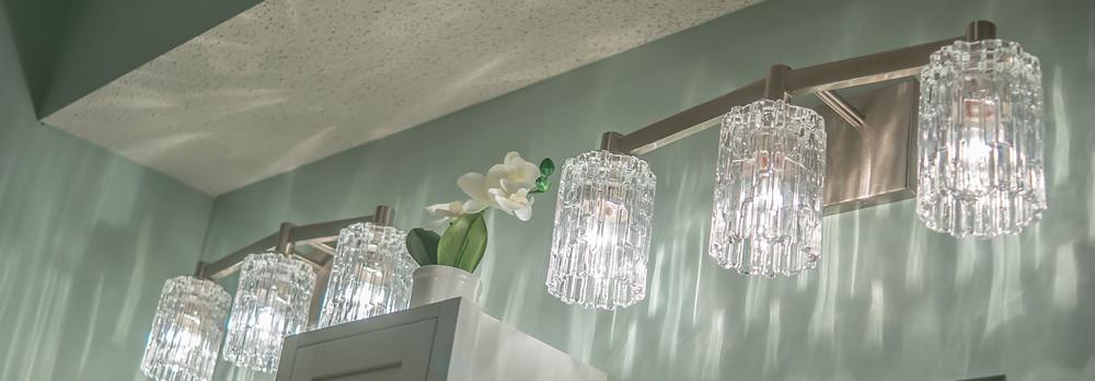 Glamorous Lighting | Pinnacle Interior Designs