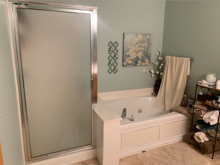 Blaine Bathroom Remodel - Part 1