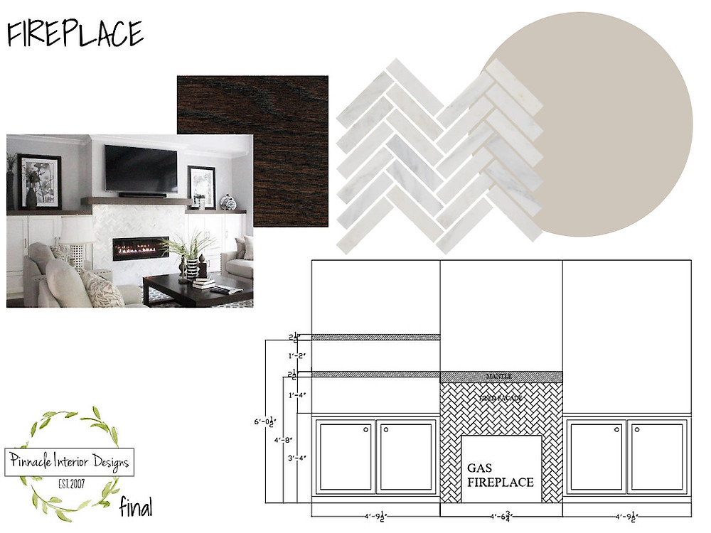 Living Room Reinvention- Client Connection- Bair part 1 | Pinnacle Interior Designs