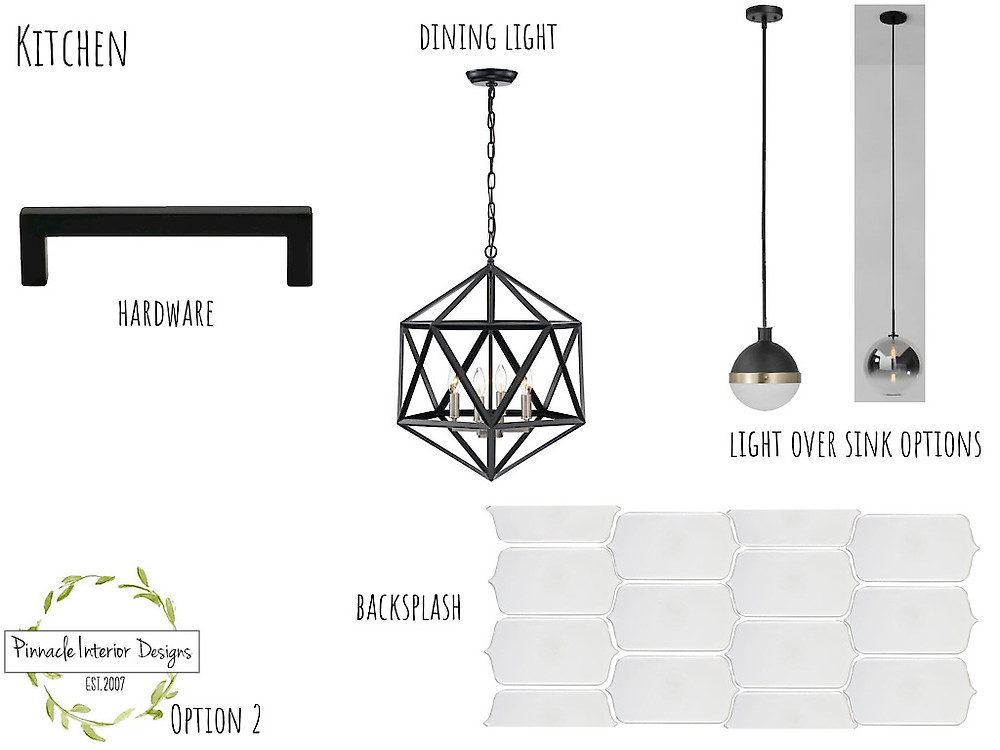Mood Board Option 2   Pinnacle Interior Designs