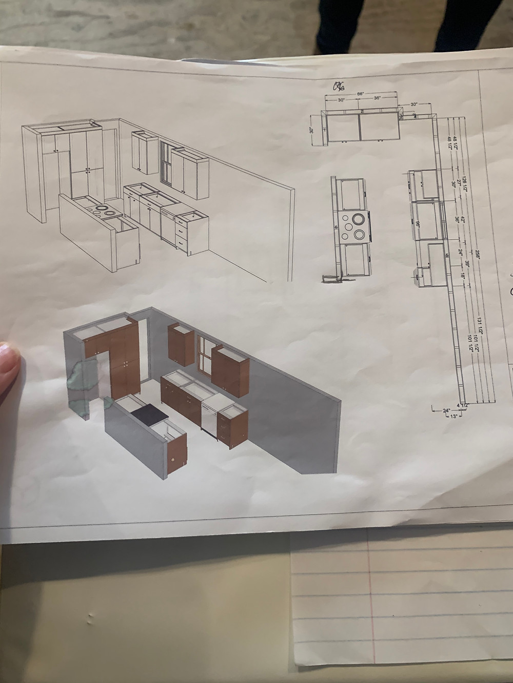 Custom Cabinet Plan | Pinnacle Interior Designs