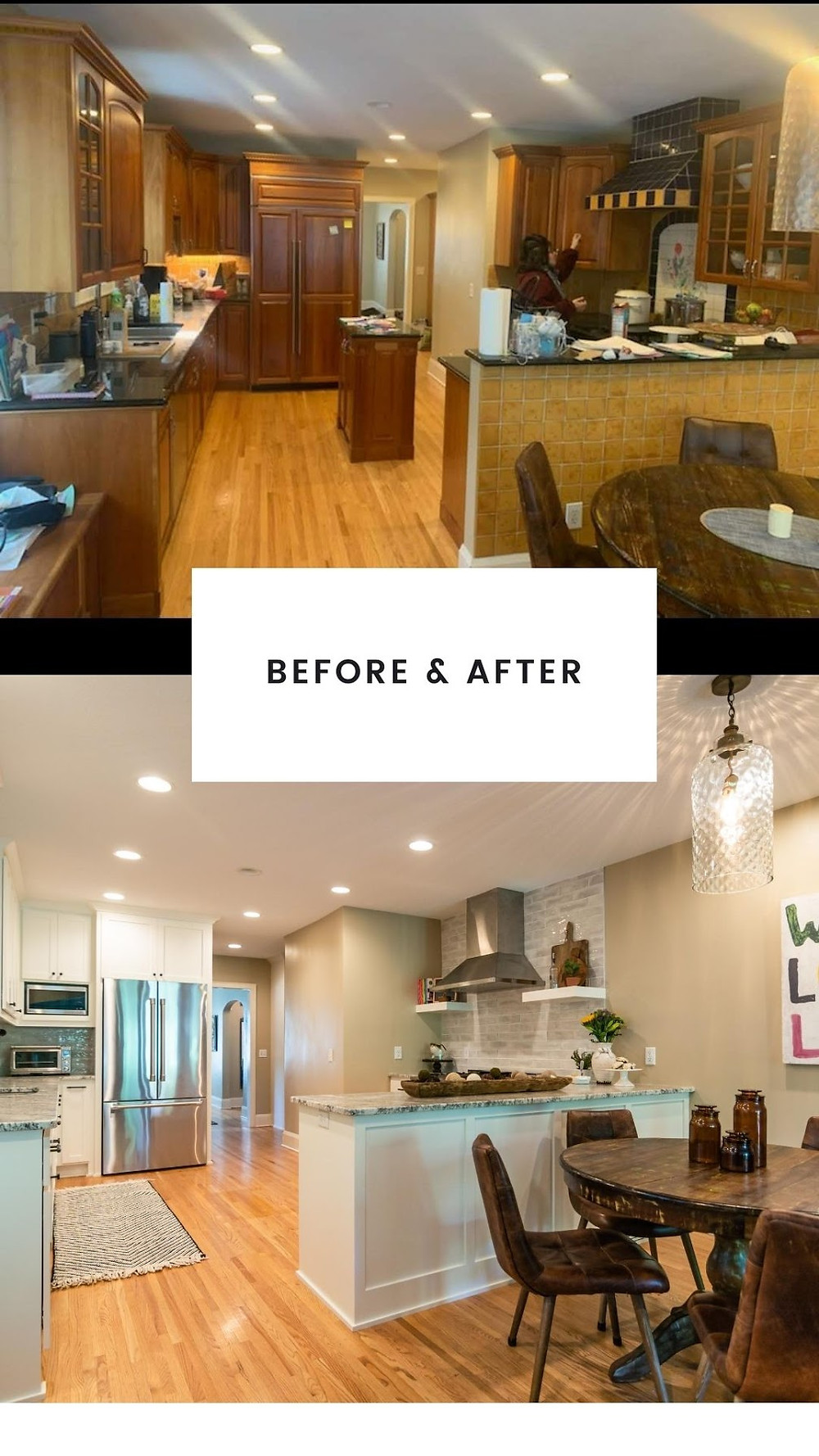 BEFORE AND AFTER | Pinnacle Interior Designs