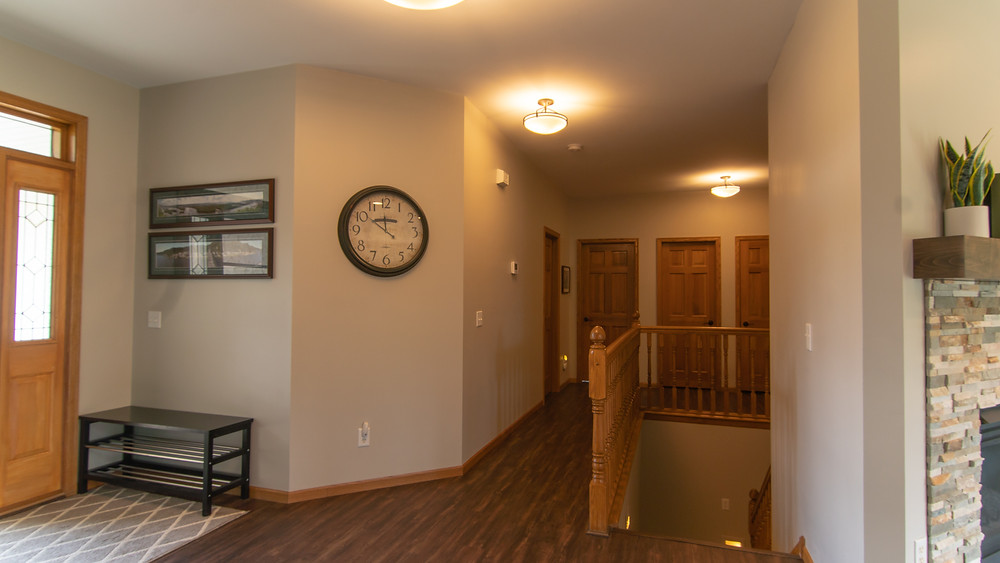 Hallway Design After | Pinnacle Interior Designs