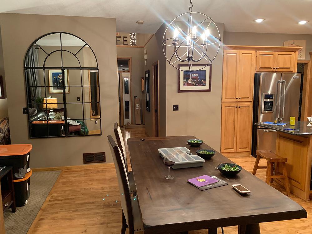 Dining/Kitchen Before | Pinnacle Interior Design