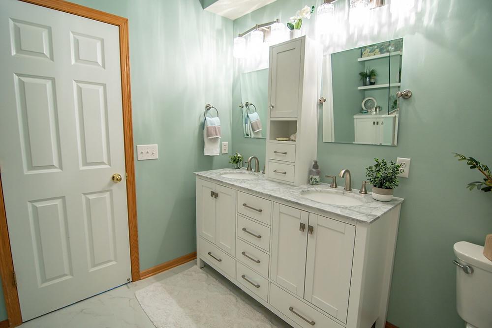 Master Bathroom Retreat | Pinnacle Interior Designs