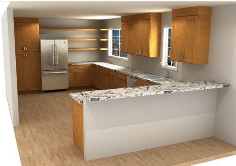 Afforable Open Concept Kitchen-  part 1 | Pinnacle Interior Designs