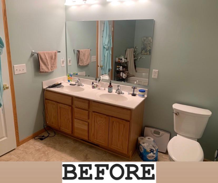 Before: Vanity