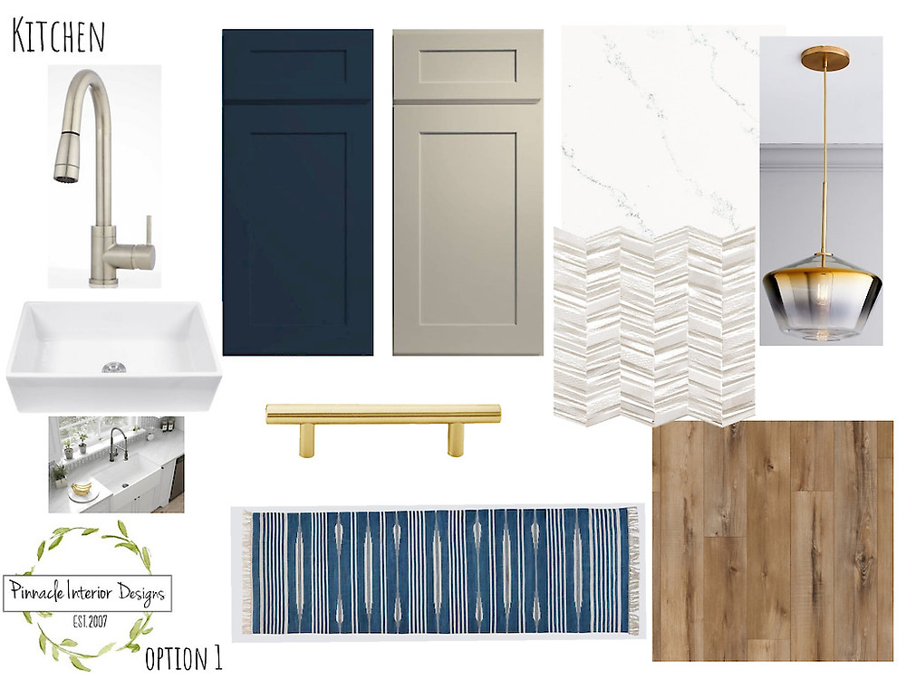 KITCHEN MOOD BOARD | Pinnacle Interior Designs