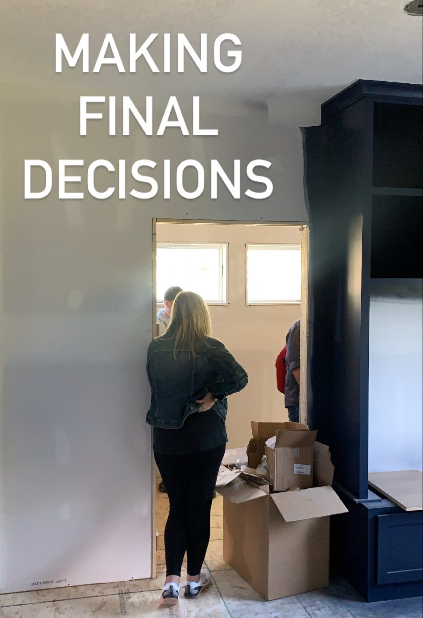Making Final Decisions | Pinnacle Interior Designs