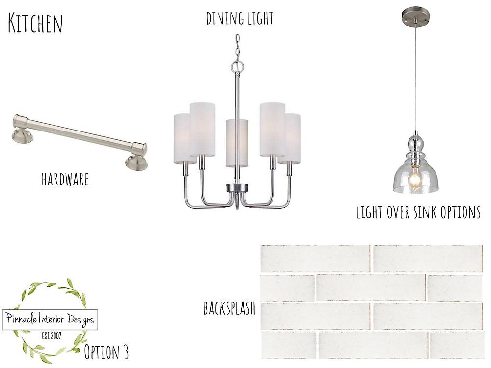 Mood Board Option 3   Pinnacle Interior Designs