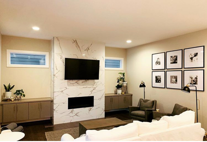 Fireplace Makeover | Pinnacle Interior Designs