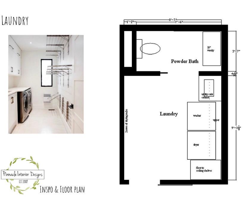 Floor plan | Pinnacle Interior Designs