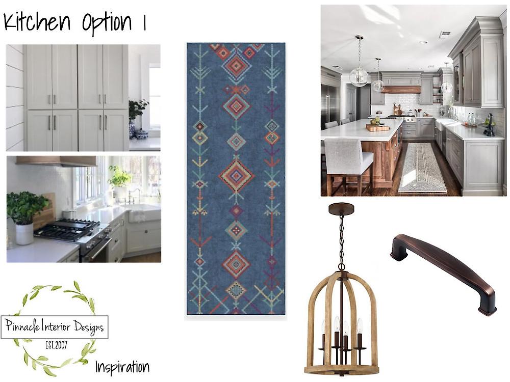 Mood Board Option 1 | Pinnacle Interior Designs