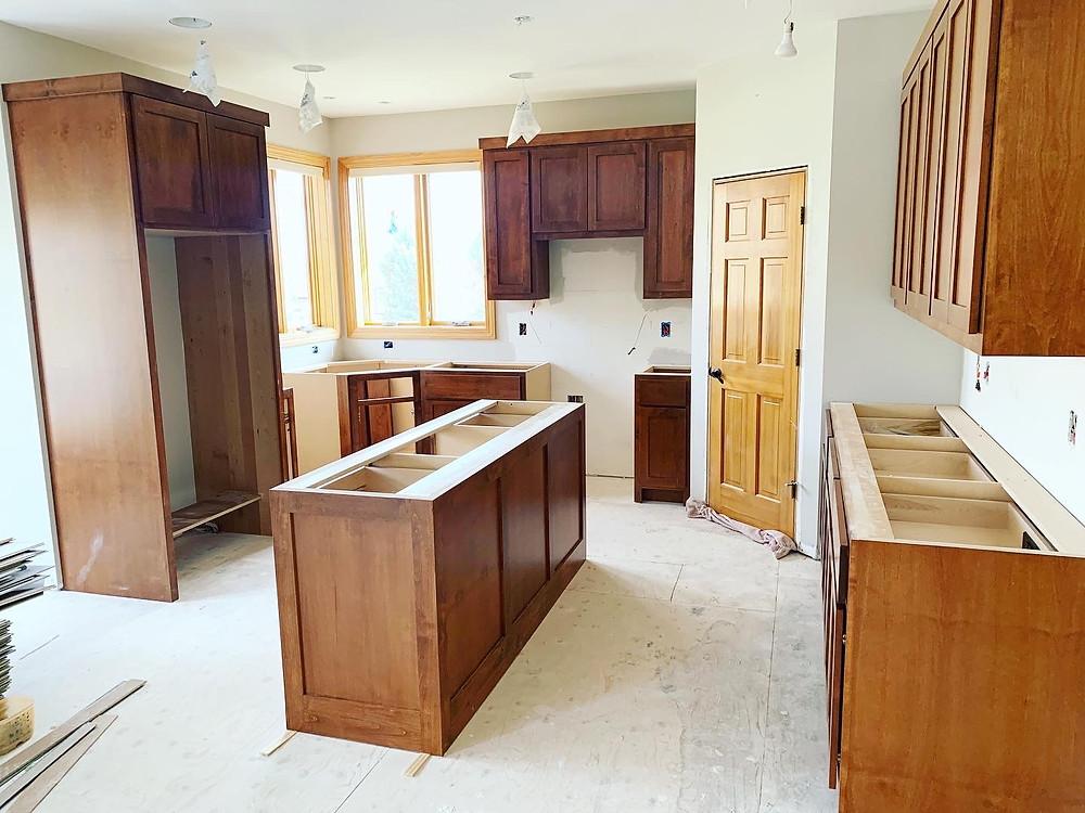 Custom Kitchen Cabinets | Pinnacle Interior Designs