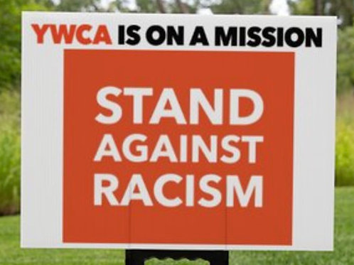 Stand Against Racism Yard Sign