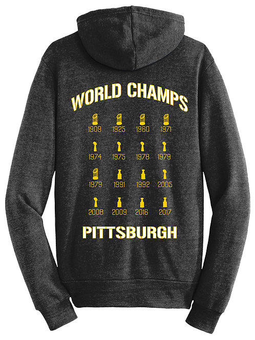World Champs Triblend Hoodie