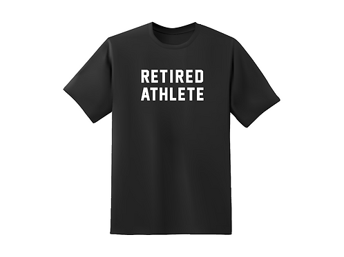 Retired Athlete - triblend cotton tee