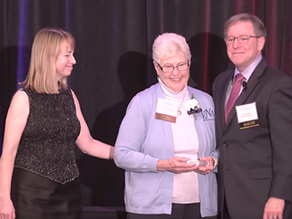 Dottie Schonlau discusses her Caregiver award and the future of hospice nursing