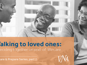 The Share and Prepare Series, part 1: Talking to loved ones.