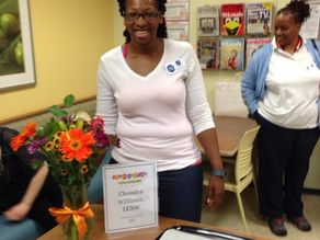 VNA's Social Worker, Chundra Williams, receives Licensed Clinical Social Worker Certification