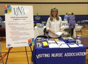 VNA Participates in Aging My Way Resource Fair